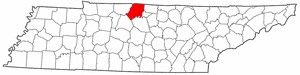 Sumner County Tennessee large map