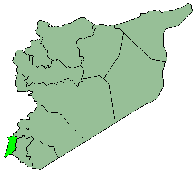 Syriaalqunaitira large map