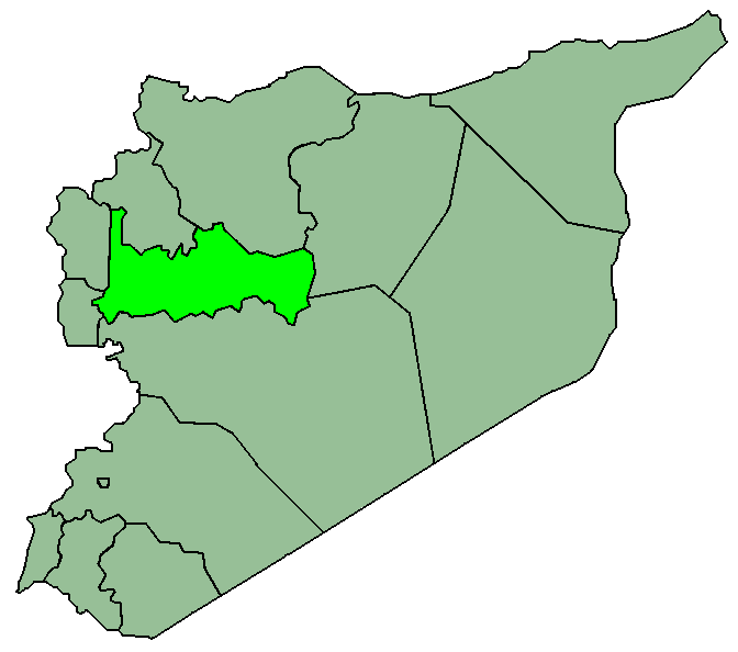 Syriahama large map