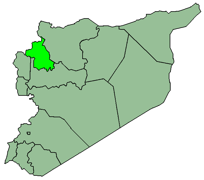 Syriaidlib large map