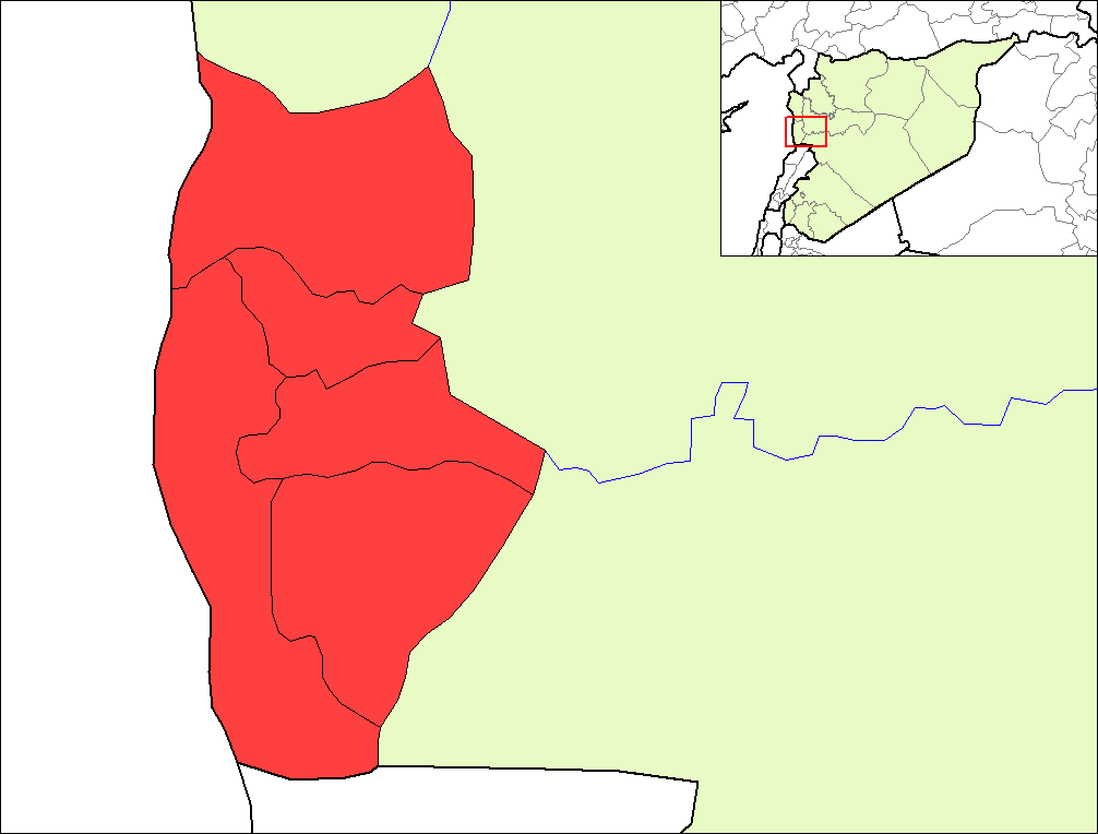Tartous Districts large map