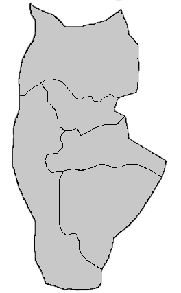 Tartus Blank Districts large map