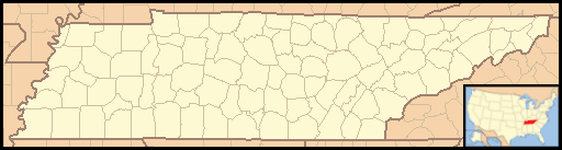 Tennessee Locator Map With Us large map