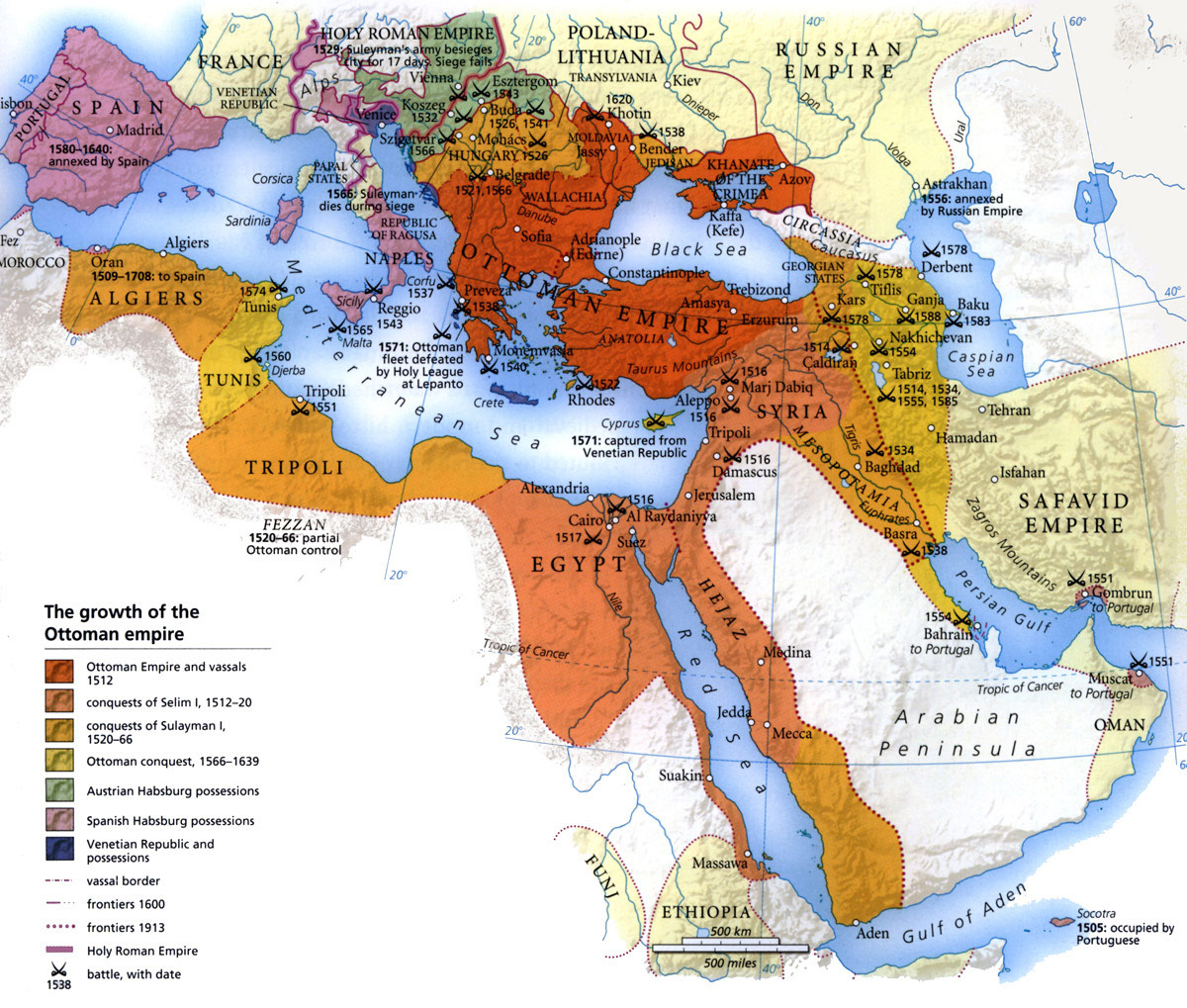 map of ottoman empire in 1900 mapsof