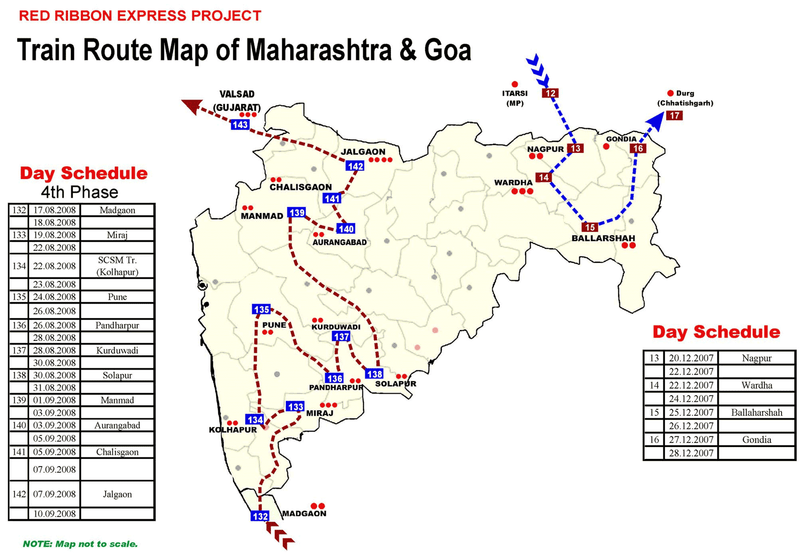 Transport Map of Maharashtra