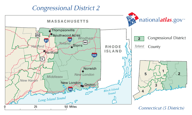 Maps United States Map Connecticut