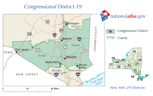Us Map House Of Representatives