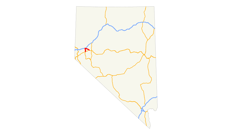 Us 50 Alt (nv) Map