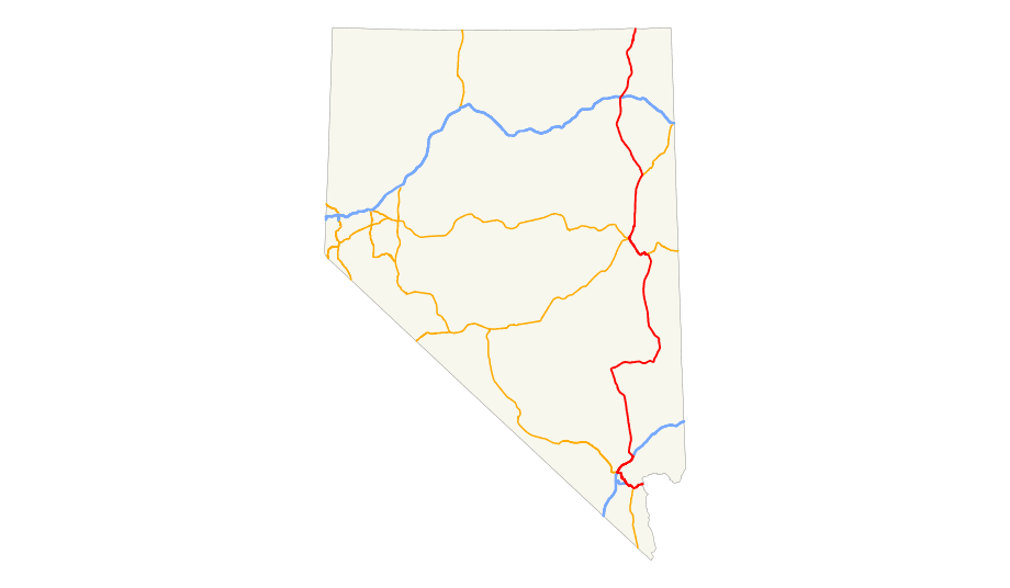 Us 93 (nv) Map