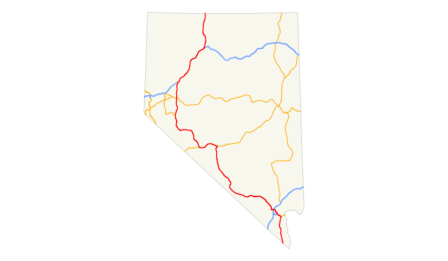 Click On The Us 95 Nv Map