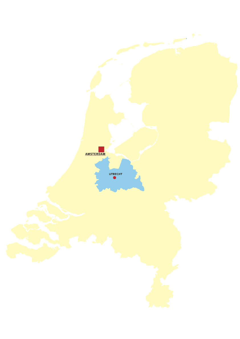 Utrecht large map