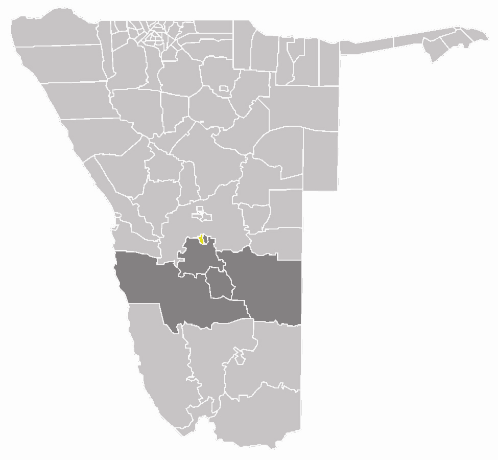 Wahlkreis Rehoboth West In Hardap large map
