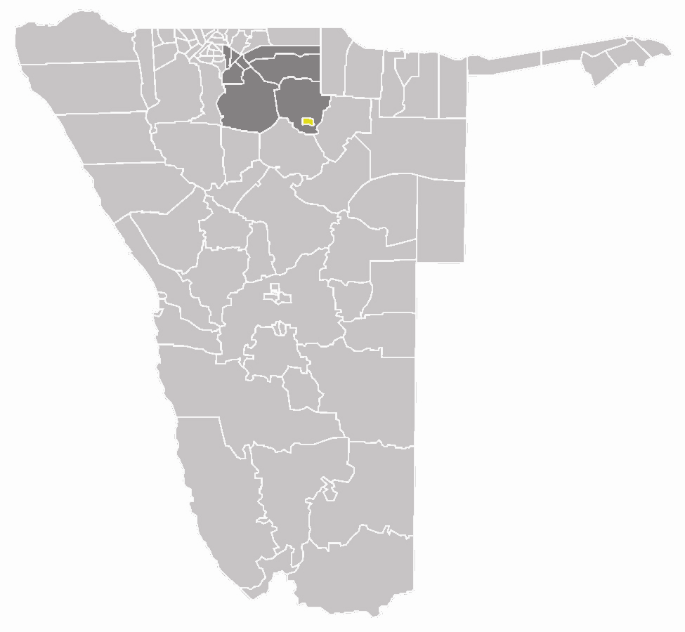 Wahlkreis Tsumeb In Oshikoto large map