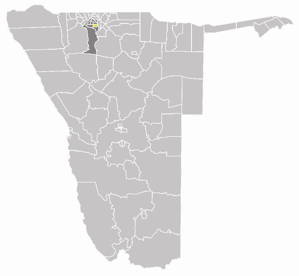 Wahlkreis Uukwiyu In Oshana large map