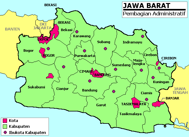 Map Of Java Indonesia. Indonesia maps.