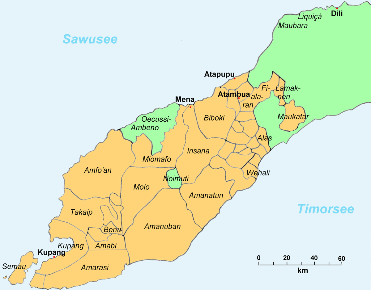 Westtimor 1911 large map