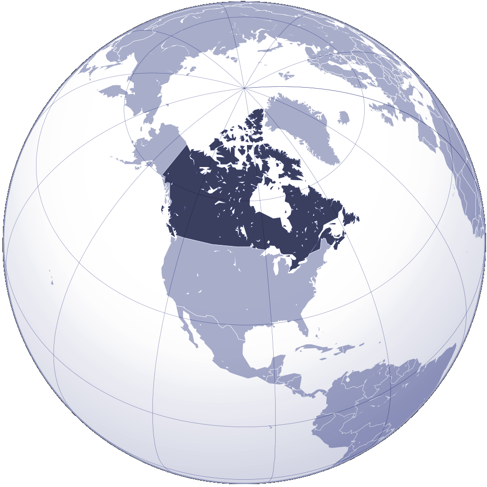Where Is Canada Located Mapsof Net