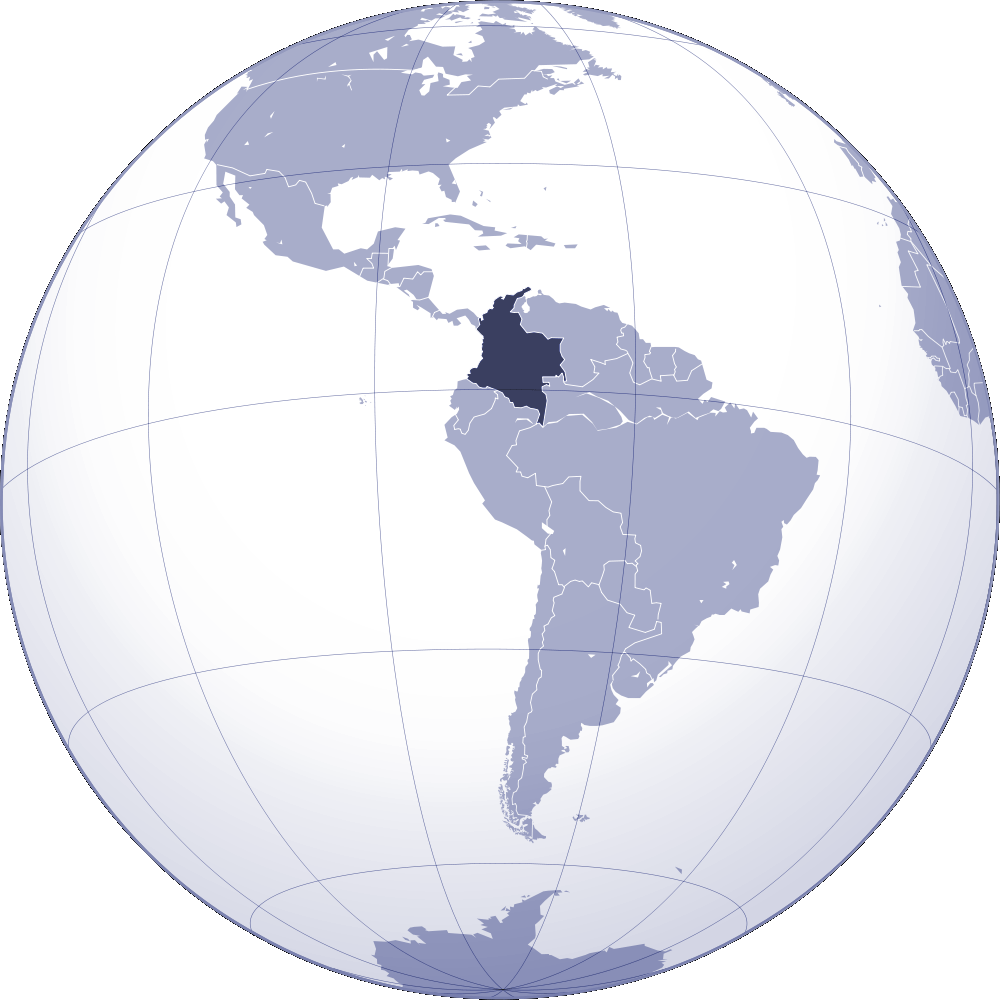 Where Is Colombia Located Mapsofnet - Where is colombia