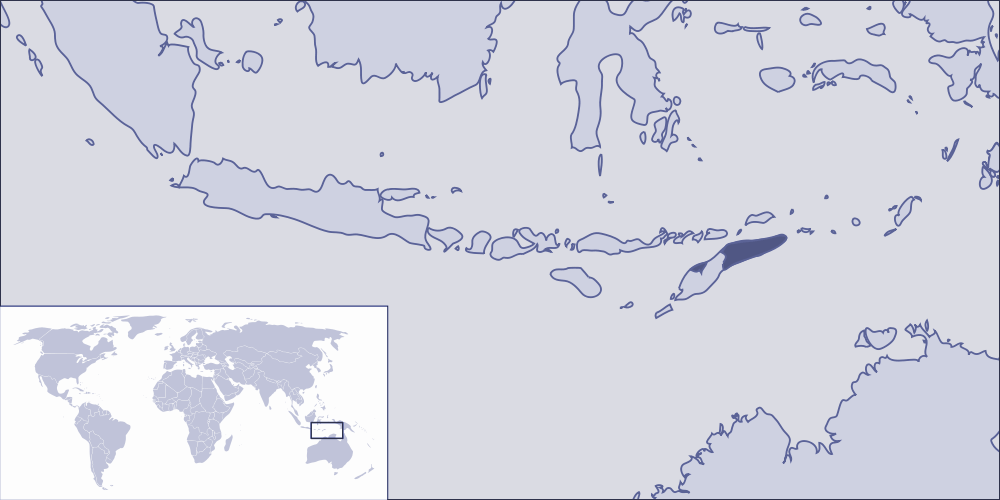 Where Is East Timor Located large map