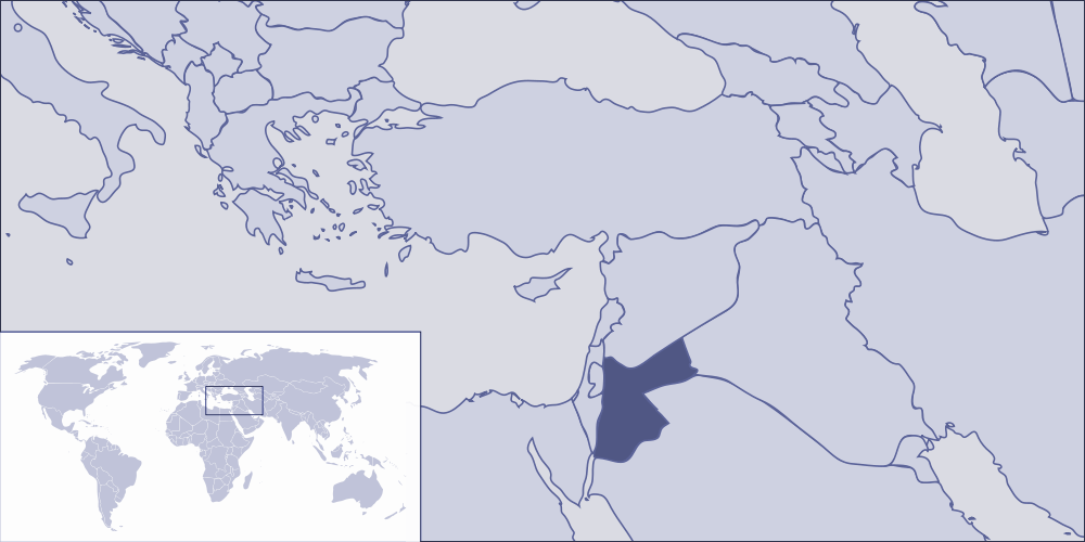 Where Is Jordan Located Mapsofnet - Where is jordan located