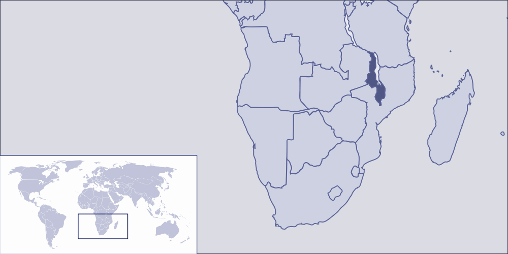 Where Is Malawi Located Mapsofnet