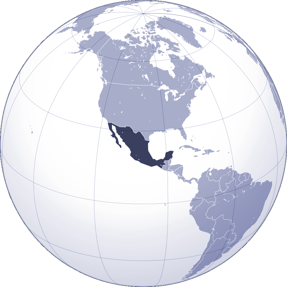 Where Is Mexico Located Mapsofnet - Where is mexico