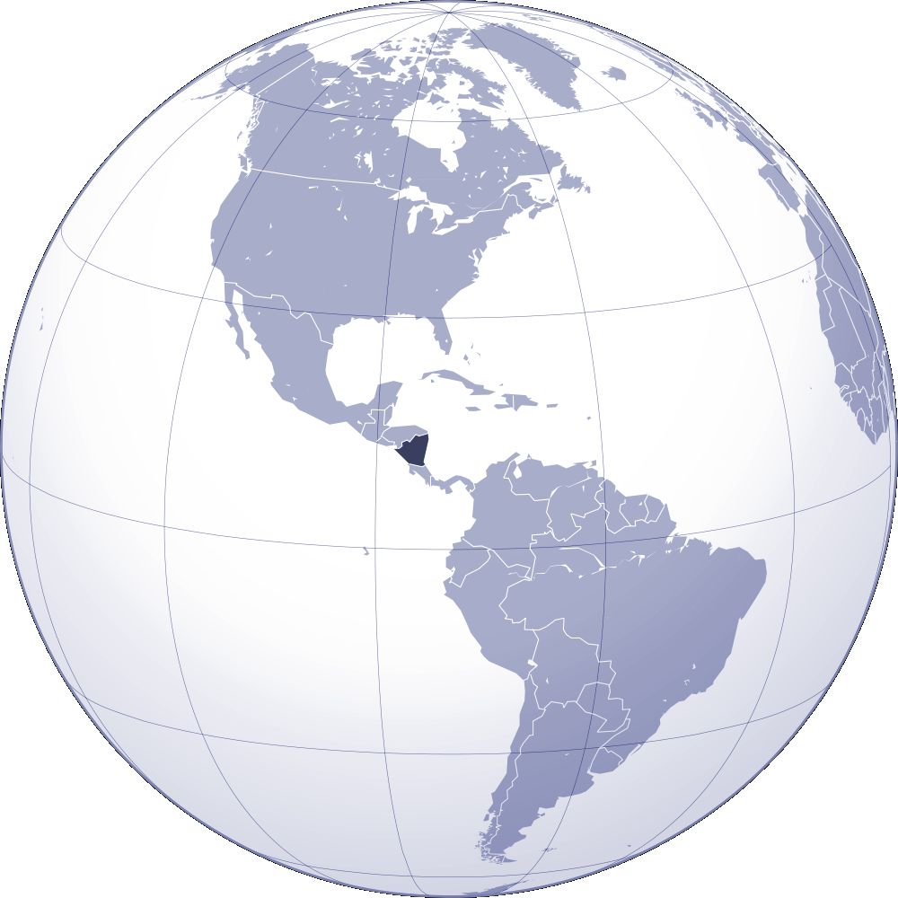 Where Is Nicaragua Located On A World Map.Where Is Nicaragua Located Mapsof Net