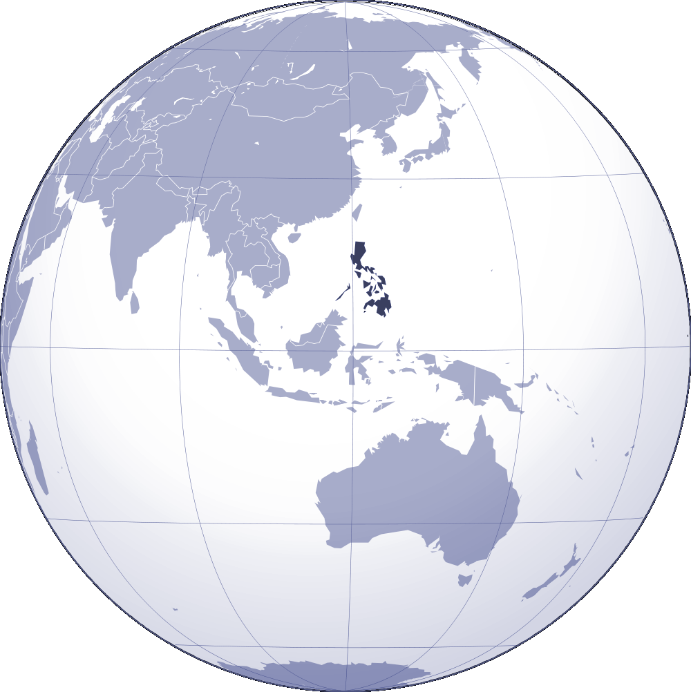 Where Is Philippines Located large map