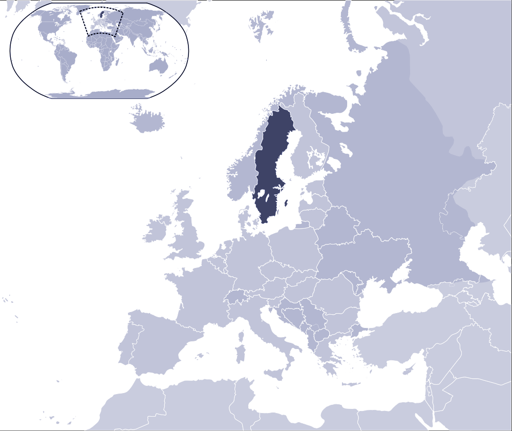 Where Is Sweden Located