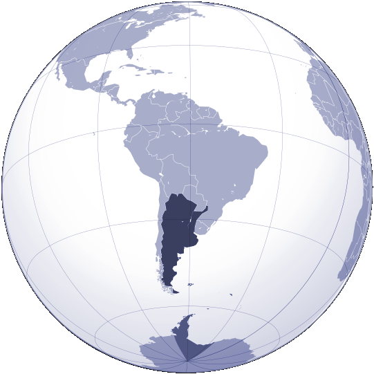Where Is Argentina Located Mapsofnet - Where is argentina