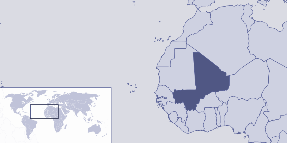 Where Is Mali Located Mapsofnet - Where is mali located