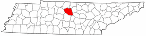 Wilson County Tennessee large map