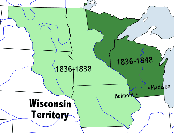 Wisconsinterritory large map
