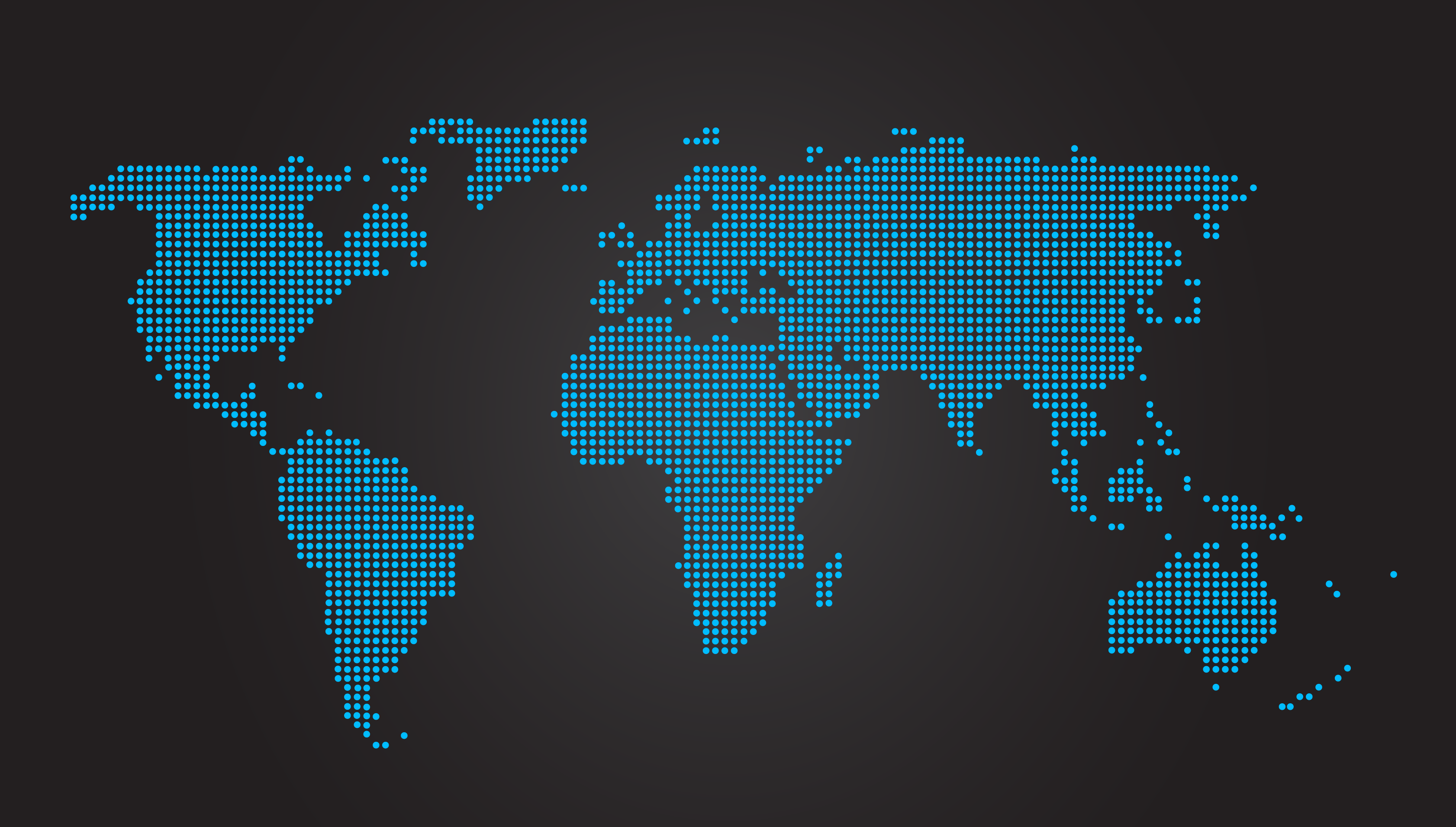 World Map Dotted Black • Mapsof.net