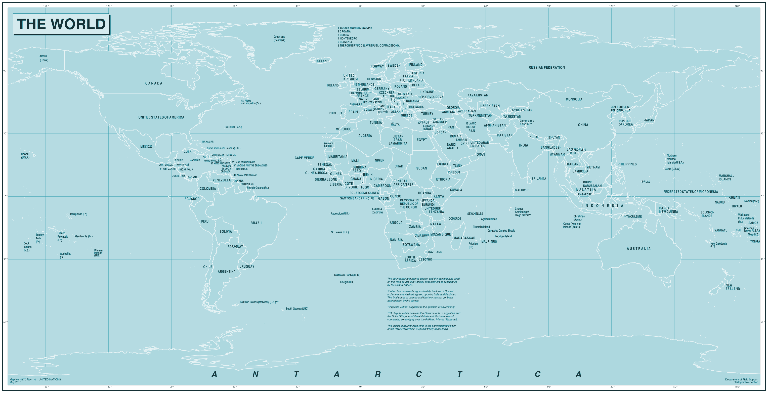 World large map