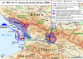 2008 South Ossetia War Es - Mapsof.Net Map