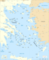 Aegean Sea Map Fr 1 - Mapsof.net