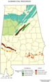 Alabama Coal Resources - Mapsof.Net Map