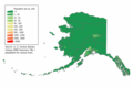 Alaska Population Map - Mapsof.net
