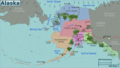 Alaska Regions Map - Mapsof.Net Map