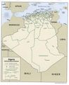 Algeria Administrative Division Map - Mapsof.Net Map