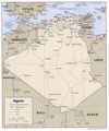 Algeria Political Map 1 - Mapsof.Net Map
