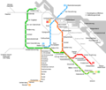 Amsterdam Metro Map - Mapsof.Net Map