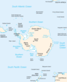 Antarctica Map 1 - Mapsof.net