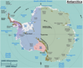 Antarctica Regions Map - Mapsof.Net Map