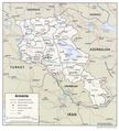 Armenia Political Map - Mapsof.Net Map