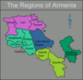 Armenia Regions Map - Mapsof.Net Map
