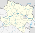 Austria Lower Austria Location Map - Mapsof.Net Map
