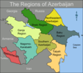 Azerbaijan Regions - Mapsof.Net Map