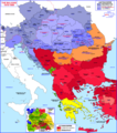 Balkans Historical Map 1815 1859 - Mapsof.Net Map